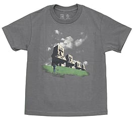 Minecraft T-Shirt - Minecraft Statues (KIDS SIZES) (Small (30 Chest)) Clothing