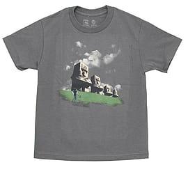 Minecraft T-Shirt - Minecraft Statues (KIDS SIZES) (Medium (32 Chest)) Clothing