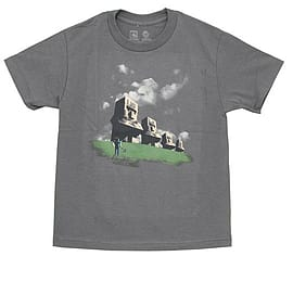 Minecraft Statues Youth Tee (YL (34)) Clothing