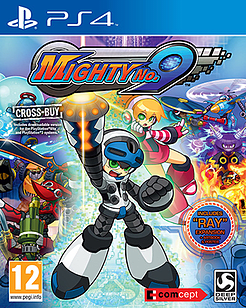 Mighty No. 9 PlayStation 4 Cover Art