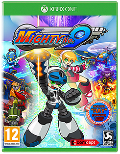 Mighty No. 9 Xbox One Cover Art