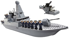 Character Building - Type 45 HM Armed Forces Royal Navy Destroyer Figurines and Sets