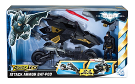 Batman Dark Knight Batpod Figurines and Sets