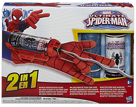 Spider-Man Mega Blaster Web Shooter with Glove Figurines and Sets