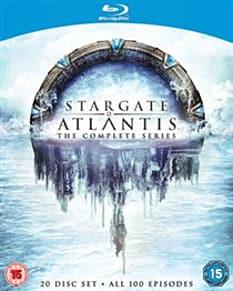 Stargate Atlantis: The Complete Seasons 1-5 Blu-ray
