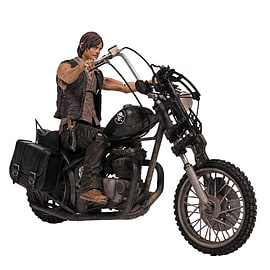 The Walking Dead TV Deluxe Box Daryl Dixon with Chopper Figurines and Sets