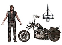 The Walking Dead TV Deluxe Box Daryl Dixon with Chopper screen shot 1