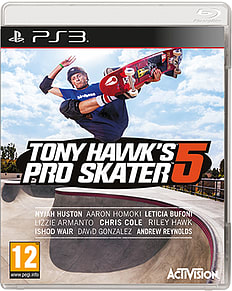 Tony Hawk's Pro Skater 5 with Preorder Rad Pack - Only at GAME PlayStation 3