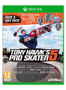 Tony Hawk's Pro Skater 5 with Preorder Rad Pack - Only at GAME Xbox One