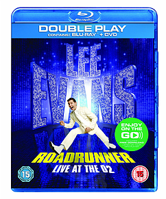 Lee Evans: Roadrunner - Live at the O2 Blu-ray