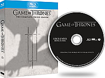 Game of Thrones - Season 3 (Includes Bonus Disc Creating The World With Visual Effects) screen shot 1