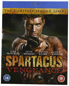 Spartacus - Vengeance Blu-ray