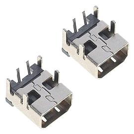 ZedLabz replacement power socket for Nintendo DSi & DSi XL jack connector port repair part - 2 pack NDS