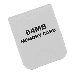 Memory card for Nintendo Wii GC value white 64mb Gamecube