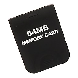 Memory card for Nintendo Wii GC value black 64mb Gamecube