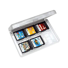 ZedLabz value game case for 3DS XL 2DS DSi DS Lite 24 in 1 box cartridge holder card storage - White 3DS