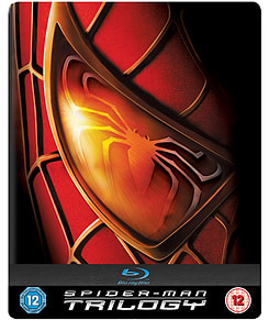 Spiderman Trilogy Steelbook Blu-ray