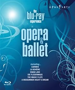 Opera and Ballet - The Blu-ray Experience Blu-ray