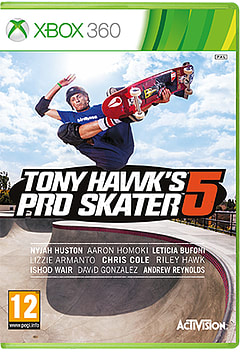 Tony Hawk's Pro Skater 5 with Preorder Rad Pack - Only at GAME Xbox 360