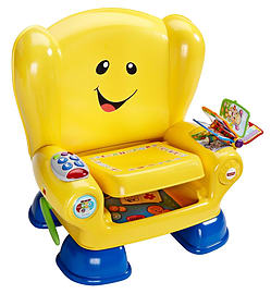 Fisher Price Smart Stages Chair (Yellow) Pre School Toys