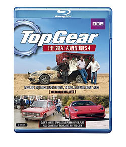 Top Gear - The Great Adventures: Volume 4 Blu-ray
