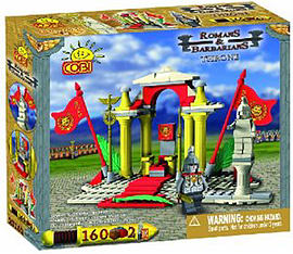 Cobi Romans and Barbarians Throne 160 Pcs Figurines and Sets