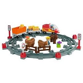Abrick Train Play Set Figurines and Sets