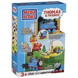 Mega Bloks Thomas and Friends - Logging Camp Playset Blocks and Bricks