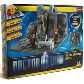 Doctor Who Time of Angels Set Character Building Figurines and Sets