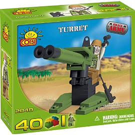 Small Army 40 Pcs Turret Figurines and Sets
