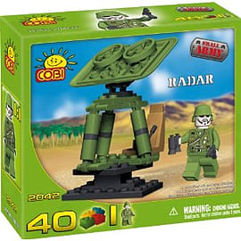 Small Army 40 Pcs Radar Figurines and Sets