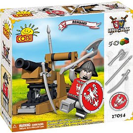 Knights 50 Pcs Bombard Figurines and Sets