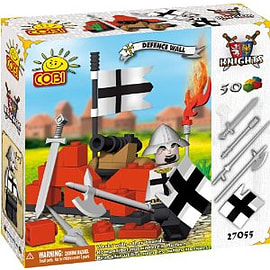 Knights 50 Pcs Defensive Wall Figurines and Sets