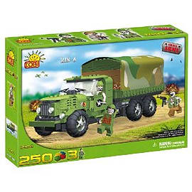 Small Army 250 Pcs Military Truck Figurines and Sets