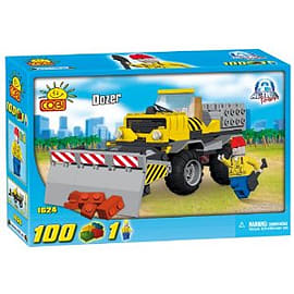 Action Town 100 Pcs Dozer Figurines and Sets