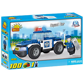 Action Town 100 Pcs Squad Car Figurines and Sets