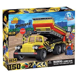 Action Town 160 Dumper Figurines and Sets