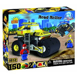 Action Town 160 Road Roller Figurines and Sets