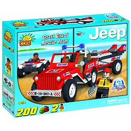 Action Town 200 Pcs Jeep Willy Rescue Team Figurines and Sets