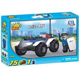 Action Town 75 Pcs Police ATV Figurines and Sets