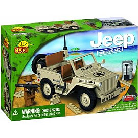 Jeep 100 Pcs Willys Desert Figurines and Sets