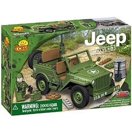 Jeep 100 Pcs Willys Military Green Figurines and Sets