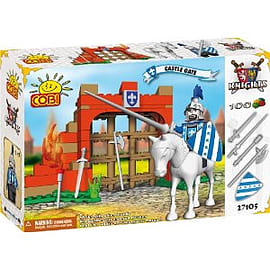 Knights 100 Pcs Castle Gate Figurines and Sets