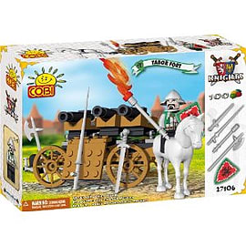 Knights 100 Pcs Tabor Fort Figurines and Sets