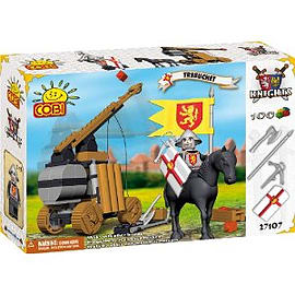 Knights 100 Pcs Trebuchet Figurines and Sets