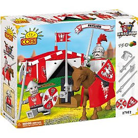 Knights 150 Pcs Pavilion - Red Figurines and Sets