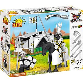 Knights 150 Pcs Pavilion - White Figurines and Sets