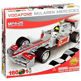 McLaren 160 Pcs F1 MP4-25 2010 Car Figurines and Sets