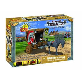 Romans and Barbarians 115 Pcs Cart Figurines and Sets