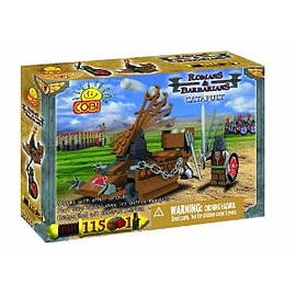 Romans and Barbarians 115 Pcs Catapult (Barbarian) Figurines and Sets